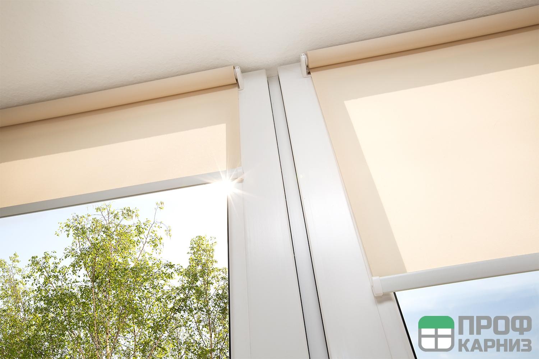 рулонные шторы с электроприводом цены купить в москве